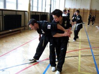 Proběhly první zkoušky ssang jul gon - nunchaku a seminář hoshinsul - sebeobrany