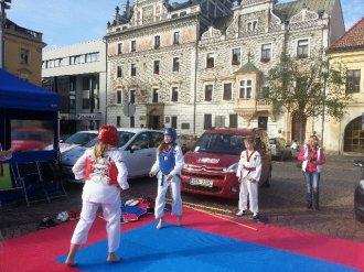 Sportovní náborový den pro děti - kolínské náměstí
