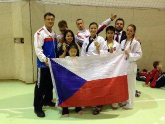 HUNGARY OPEN 2014 - bronzová medaile pro naši nejmenší