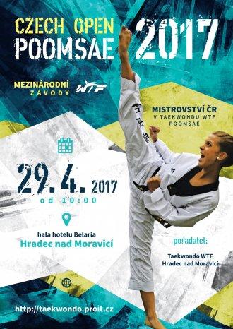 DŮLEŽITÉ PRO ZÁVODNÍKY: Losované sestavy Czech Open Poomsae 2017