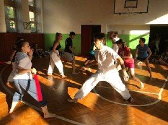 NOVINKA: Pravidelné tréninky CHANBARA ve škole TAEHAN!