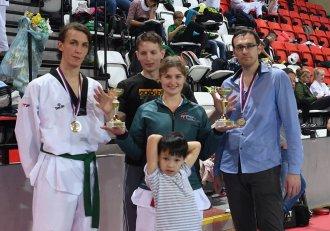 Tři zlaté medaile z Prague Open kyorugi pro TAEHAN!