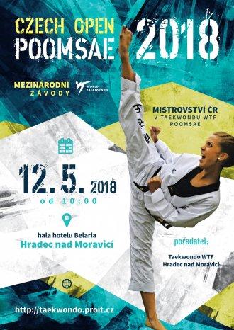 Pozvánka na Czech Open Poomsae 2018