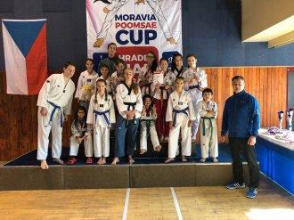 Moravia poomsae cup 2018 - 2. místo v celkovém hodnocení výsledků turnaje