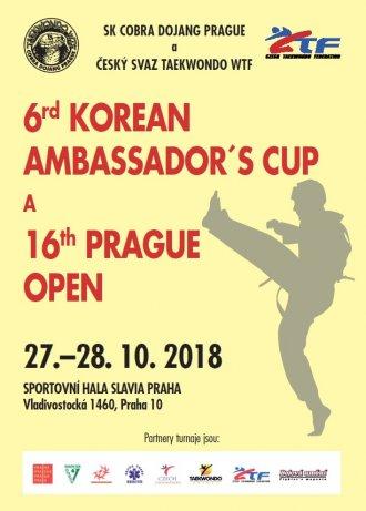 Pozvánka na Prague Open 2018 - REGISTRACE POUZE DO STŘEDY!!!