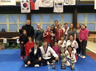 Hansoo Cup 2018 - poslední turnaj poomsae v tomto roce