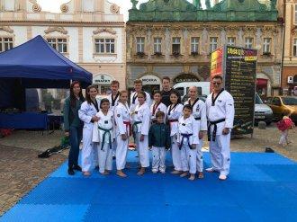 Kolínské náměstí - náborová akce sportovních klubů - 2019