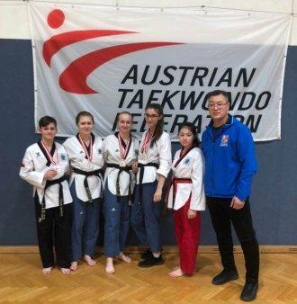 Úspěšný start našich Taehan reprezentantů - Austrian Open 2020