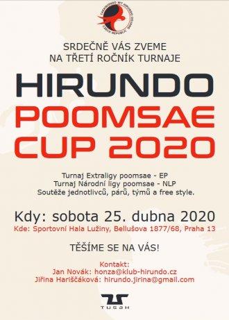 Pozvánka na Hirundo Cup 2020