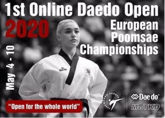 Aktuality z Otevřeného Mistrovství Evropy on-line 2020 - finále pro Taehan!!!!