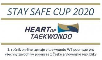 STAY SAFE CUP 2020 - 1. ročník on-line turnaje v taekwondo WT poomsae