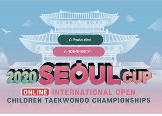 2020 SEOUL CUP ONLINE INTERNATIONAL - 6 medailí pro Taehan