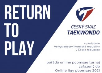 RETURN TO PLAY - 2.kolo online ligy poomsae - INFO