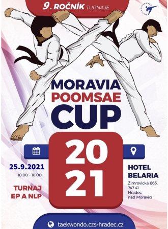 MORAVIA POOMSAE CUP 2021 - první nevirtuální závody po mnoha měsících!