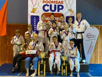 Další vítězství pro TAEHAN - putovní pohár si z Moravia Cupu odvezl náš klub TAEHAN